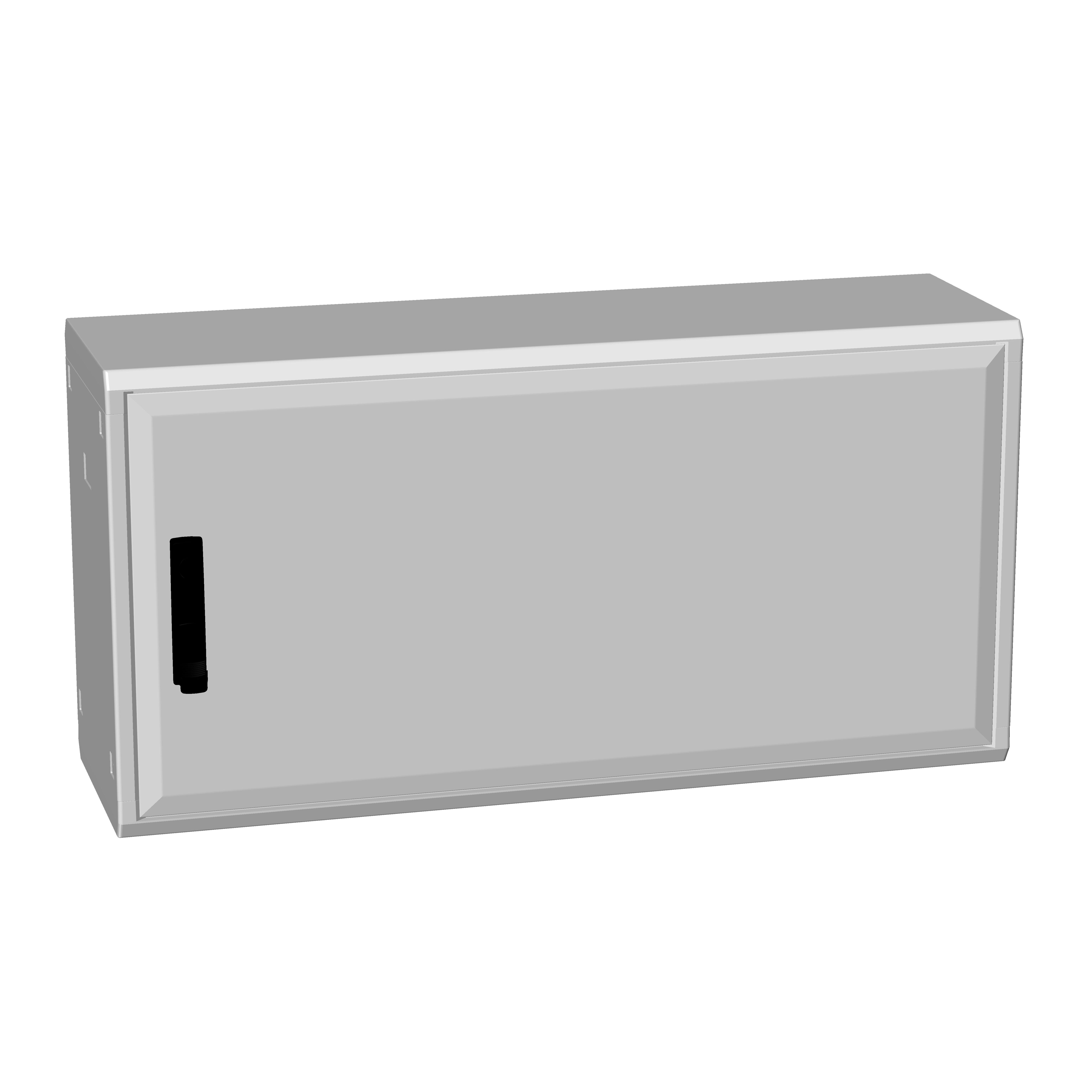 1 Stk Polyesterschrank, eintürig, 500x1000x312 POCC2430--