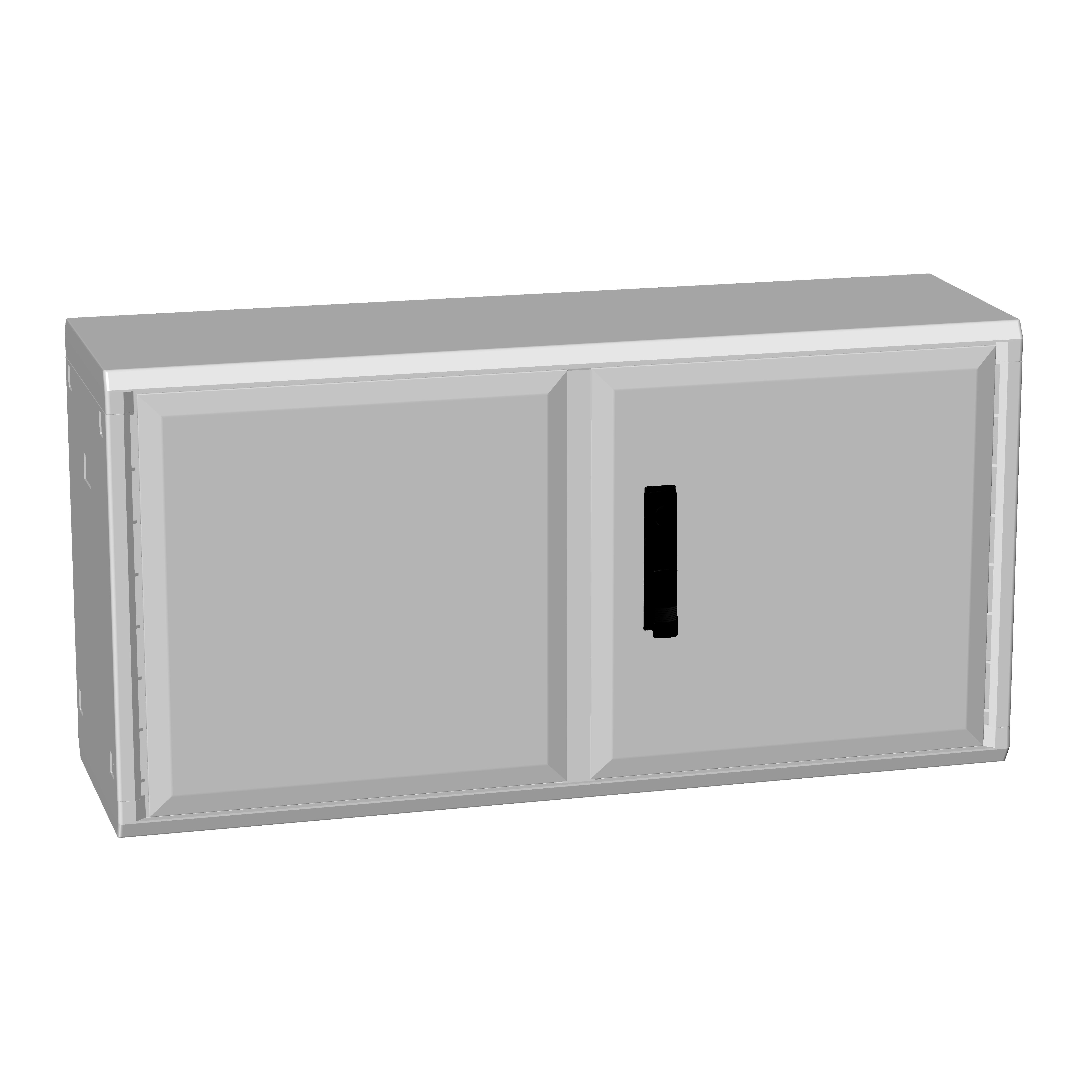 1 Stk Polyesterschrank, zweiflügelig, 500x1000x312 POCC2431--