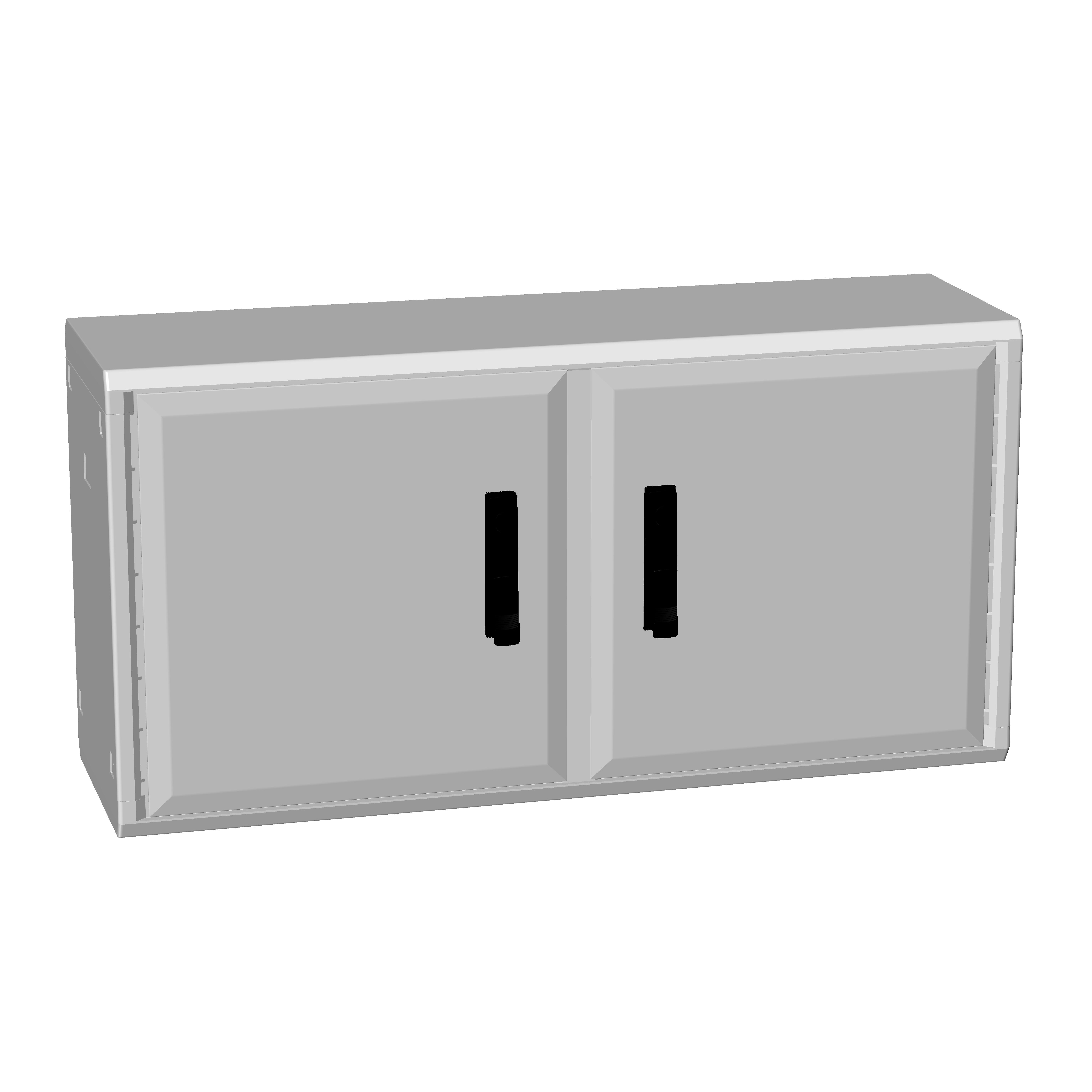 1 Stk Polyesterschrank, zweitürig, 500x1000x312 POCC2432--