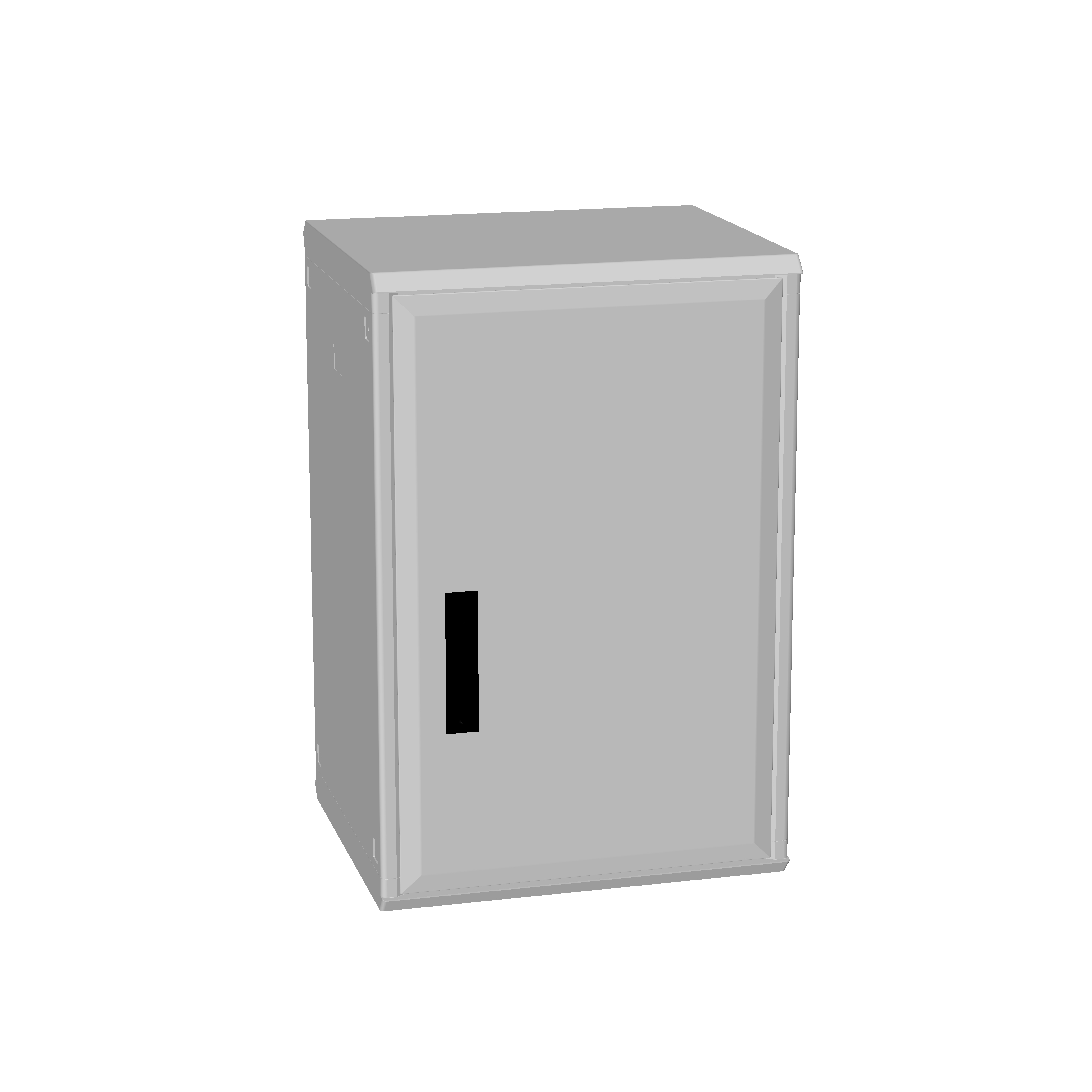 1 Stk Polyesterschrank, eintürig, 750x500x432 POCC3240--