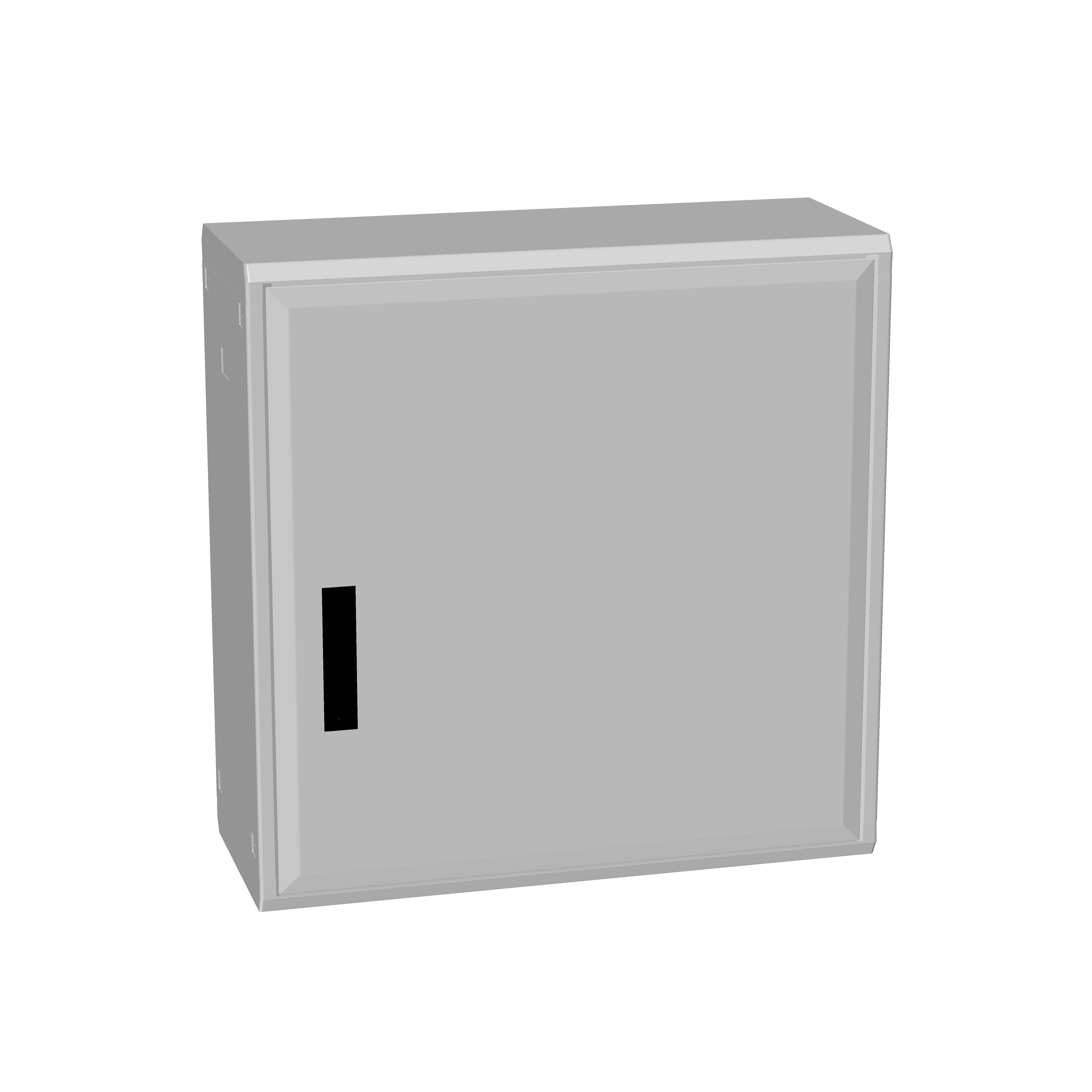 1 Stk Polyesterschrank, eintürig, 750x750x312 POCC3330--