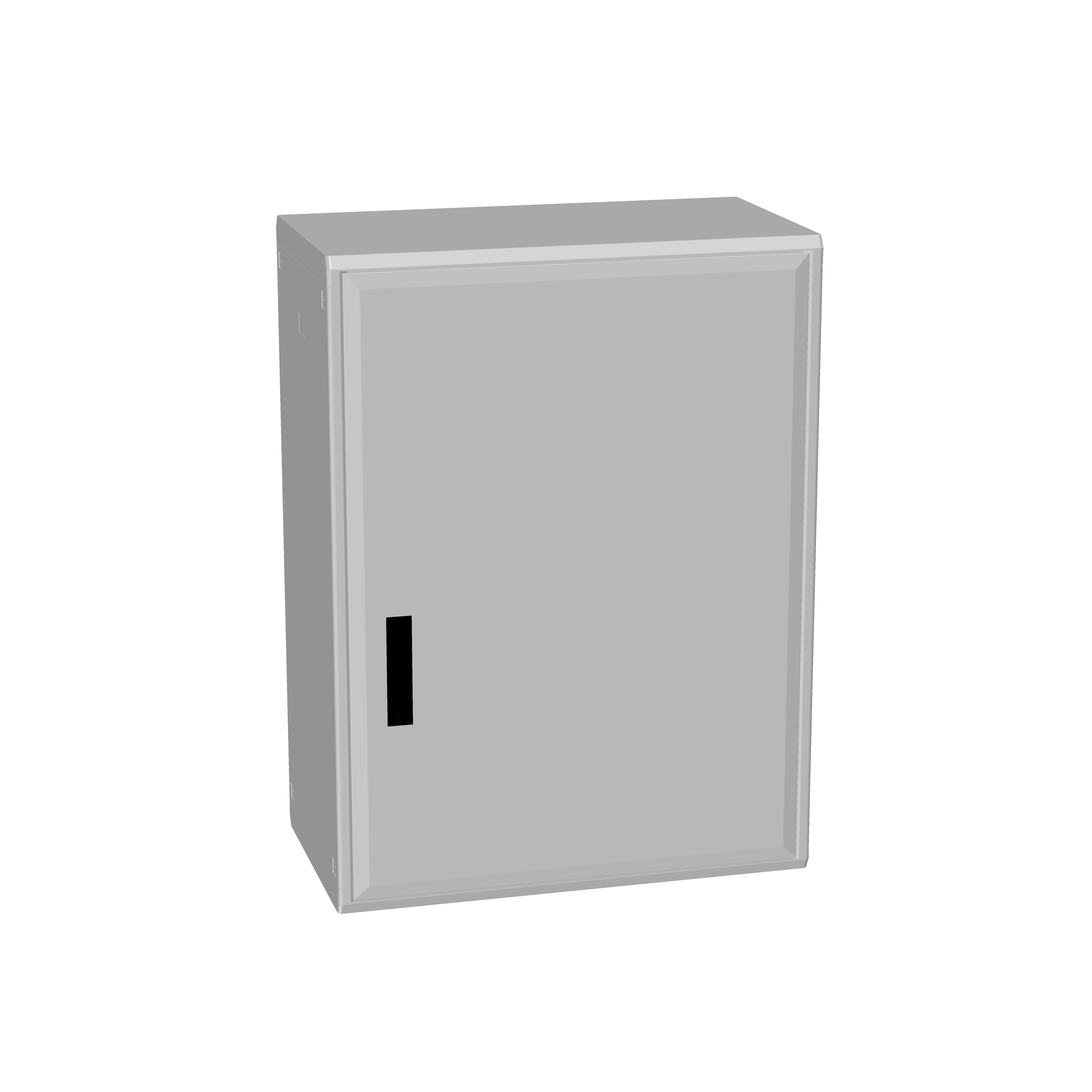 1 Stk Polyesterschrank, eintürig, 1000x750x432 POCC4340--