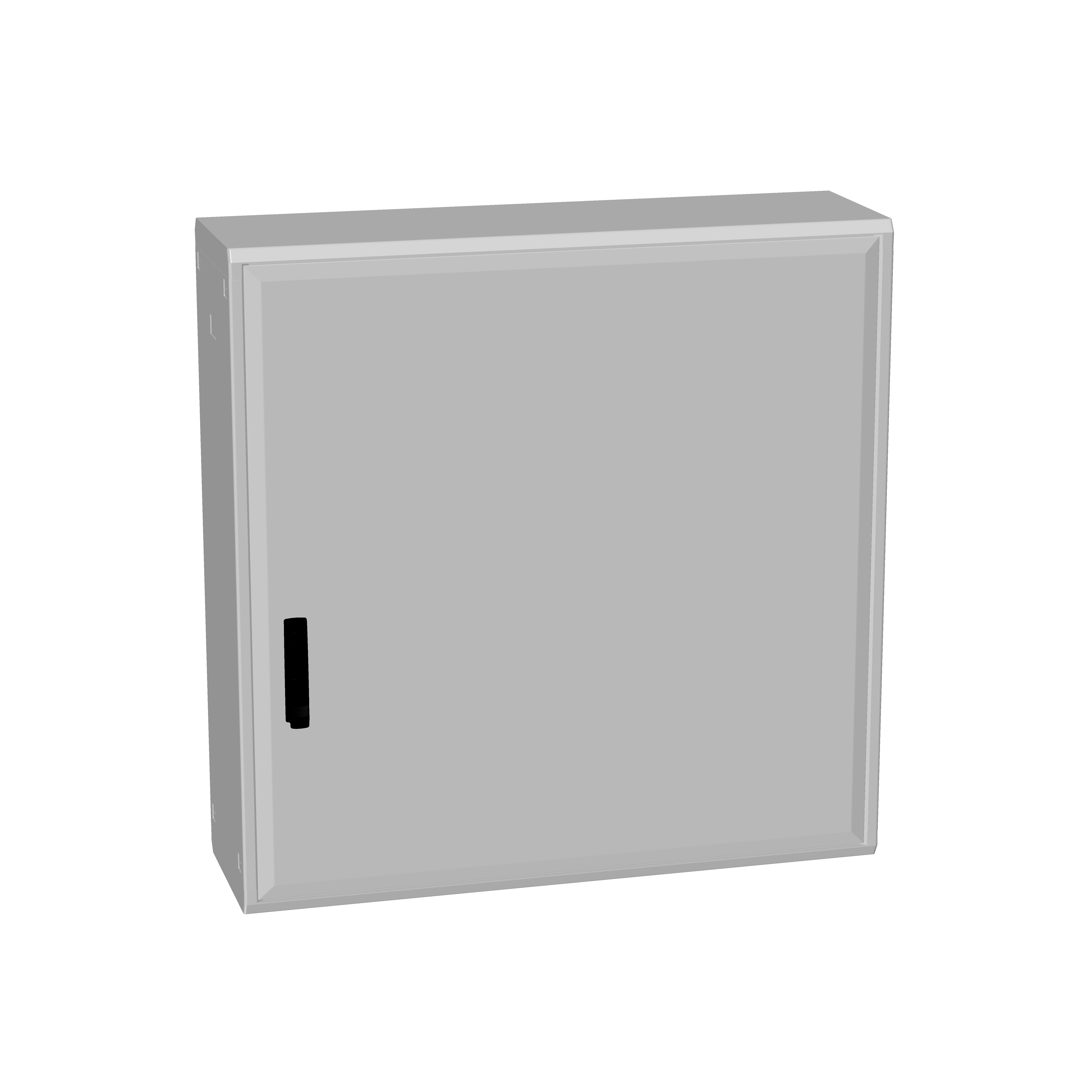 1 Stk Polyesterschrank, eintürig, 1000x1000x312 POCC4430--