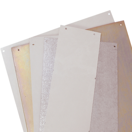 1 Stk Montageplatte Polyester für Fixeinbau zu Gehäuse 500x750 POPF5075--
