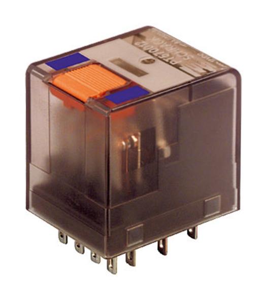 1 Stk Miniatur-Relais, 4 Wechsler, 6A, 12VDC, Serie PT PT570012--