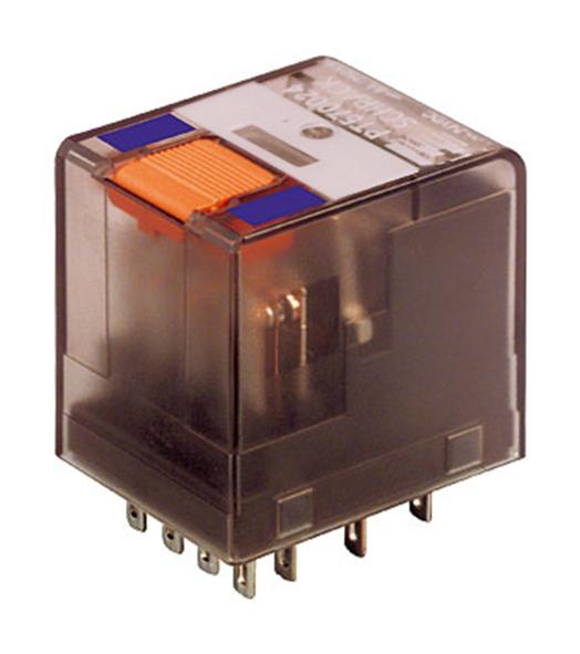 1 Stk Miniatur-Relais, 4 Wechsler, 6A, 24VDC, Serie PT PT570024--