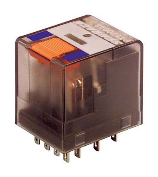 1 Stk Miniatur-Relais, 4 Wechsler, 6A, 48VDC, Serie PT PT570048--