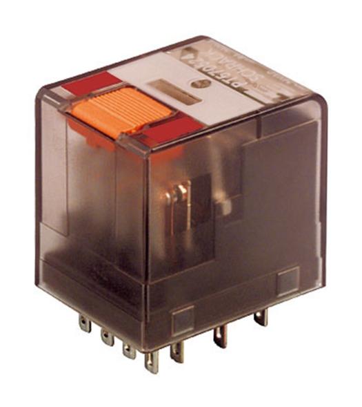 1 Stk Miniatur-Relais, 4 Wechsler, 6A, 24VAC, Serie PT PT570524--