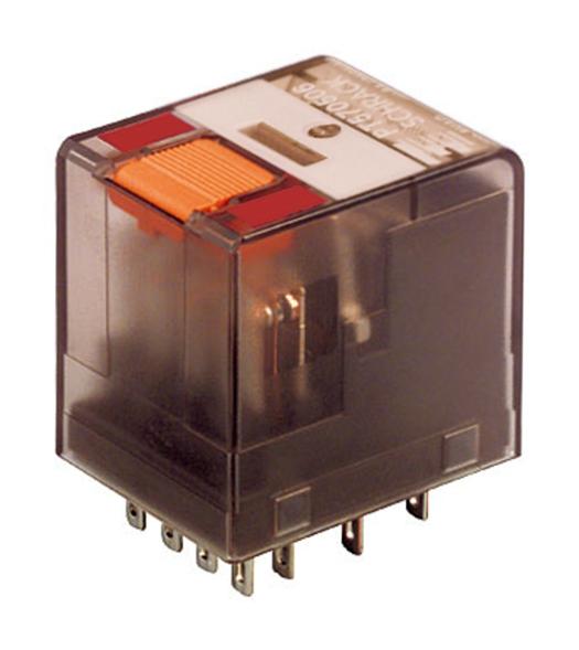 1 Stk Miniatur-Relais, 4 Wechsler, 6A, 230VAC, Serie PT PT570730--
