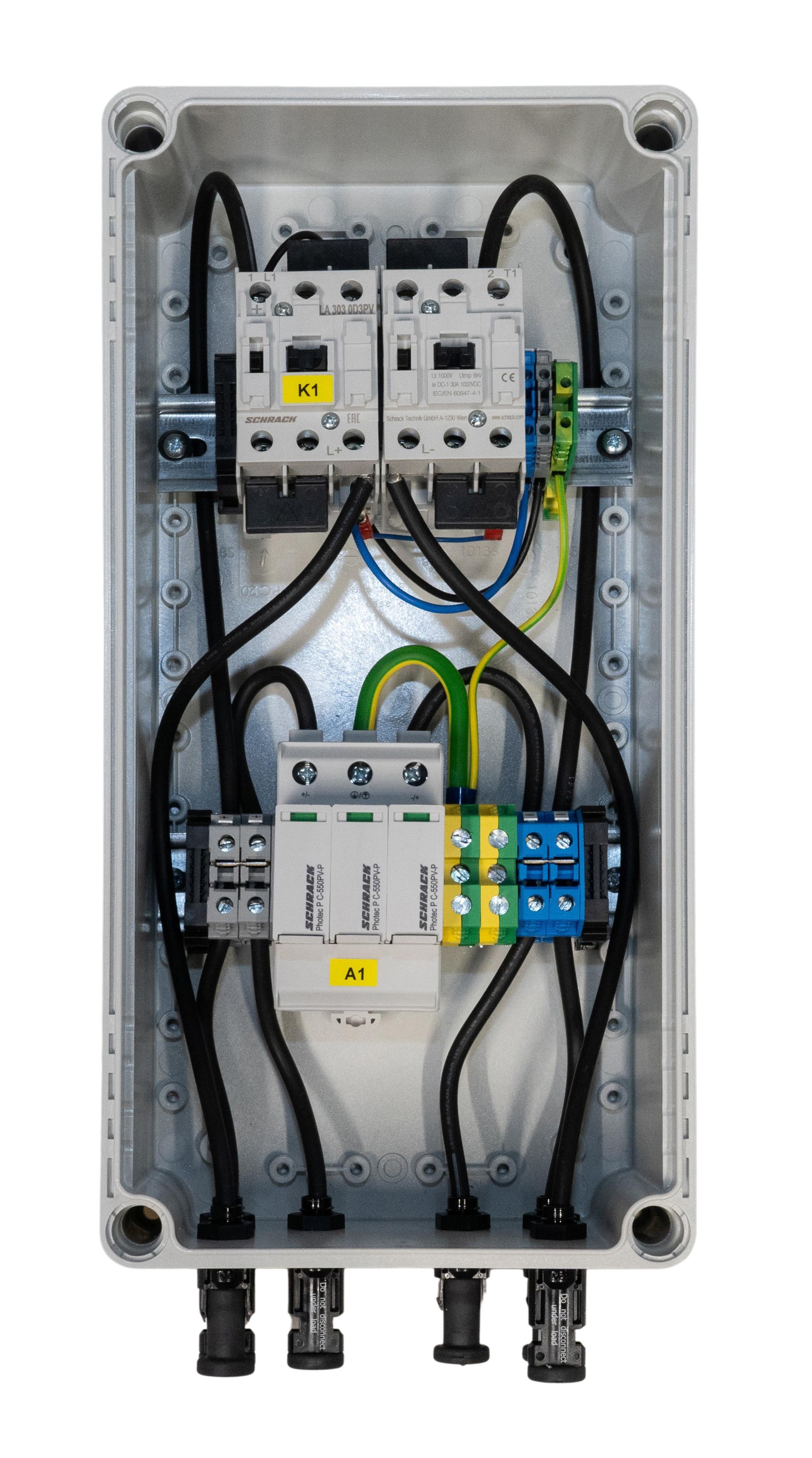 1 Stk PV-CombiBox C Ableiter+Brandschutz, 1 Mpp Tracker, 1000Vdc PVPF1501--