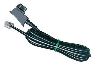 1 Stk TSS Telefon Kabel, TSS Stecker - RJ11 6P4C, 10m Q7159011--