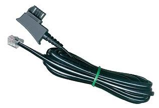 1 Stk TSS Telefon Kabel, TSS Stecker - RJ11 6P4C, 20m Q7159014--
