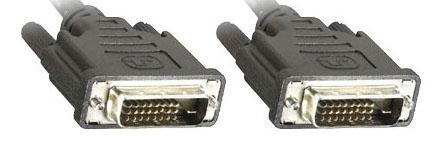 1 Stk DVI-D Kabel, DVI-D (24+1) Stecker - Stecker, 5m Q7172751--
