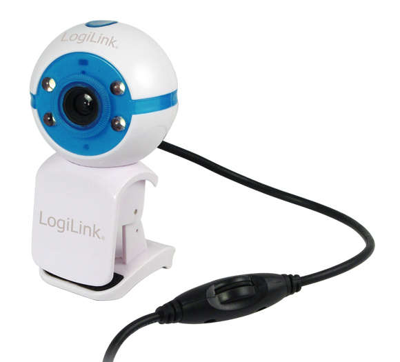 1 Stk USB 2.0 Mini Webcam, 800x600, Mikrofon, 4xLED, Clip Q7173233--