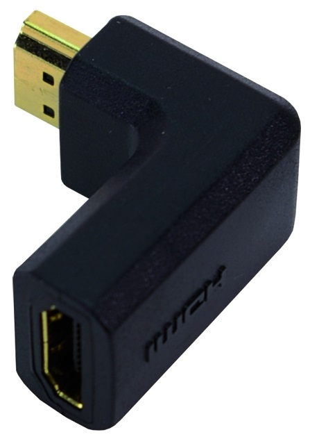 1 Stk HDMI Adapter 90°, HDMI A Stecker - HDMI A Buchse Q7AH0005--