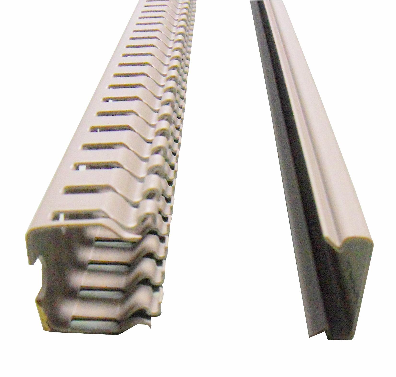 1 m Verdrahtungskanal Type BE 25x25mm (BxH), RAL 7030 RH724243--