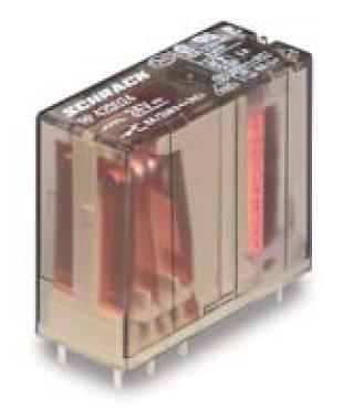 1 Stk RP-Printrelais, 2 Wechsler, 8A, 24VDC, Pinning 5mm, AgCdO RP420024-B