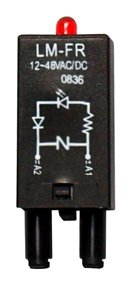 1 Stk LED-Modul 24 V AC/DC für SC-Sockel RPML0524--