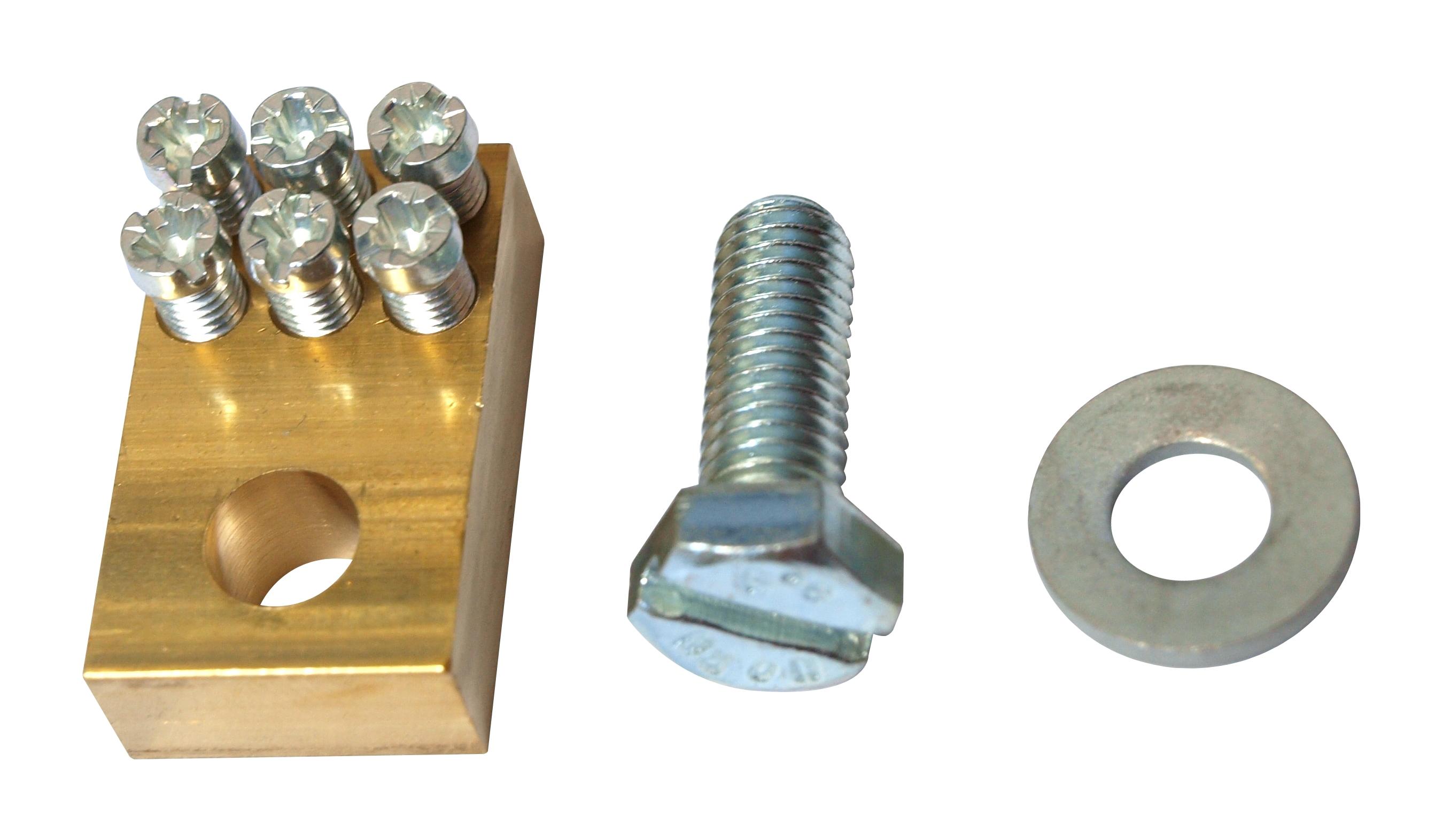 1 Stk Buchsenklemme 2 x 1,5 - 25mm² und 1 x 1,5 - 16mm² SI011820--