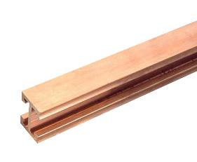 1 Stk Sammelschiene E-Cu, 1250 A, TT-Profil, blank, 2,40 m lang SI012500--