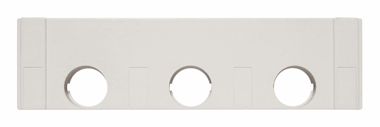 1 Stk D0-Streifenabdeckung E18, zweifach, 54mm breit SI019810--