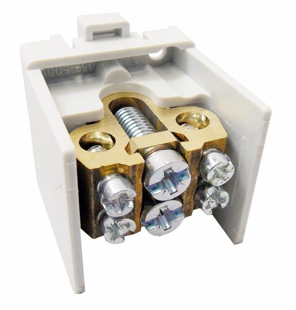 1 Stk Hauptklemme blank 35mm², 1-polig, 1x2x25mm² SI022420--