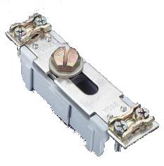 1 Stk Nullleiter 160 A, trennbar beidseitig Schelle, anschraubbar SI036680--