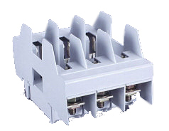 1 Stk NH-Sicherungsunterteil Gr.00, 160A, 3-polig, Schraube Aufbau SI037590--