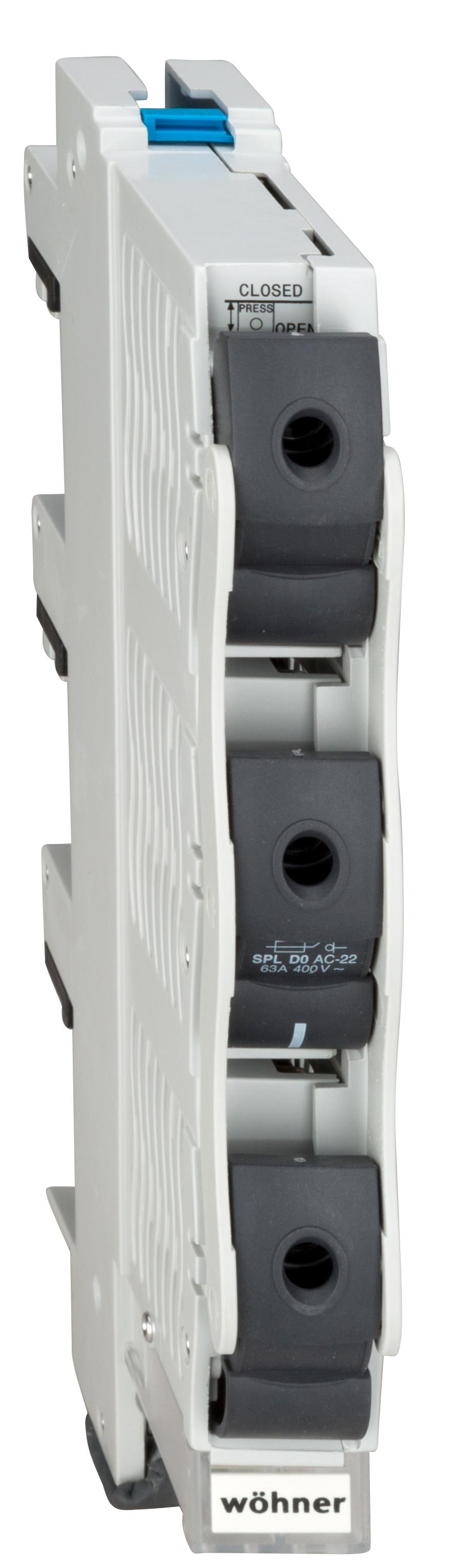 1 Stk Reiter-Sicherungs-Schalter für D0-Sicherungen SI311580--