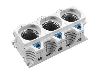 1 Stk DIII-Sicherungssockel E33, 3-polig, 63A SI311760--