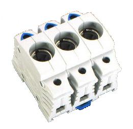 1 Stk D0-Einbau-Sicherungssockel D02, 3-polig, BGV A3, schnappbar SI312930--