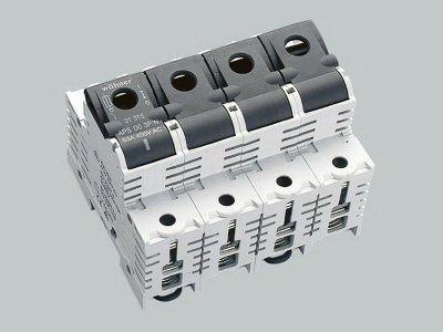 1 Stk Lasttrennschalter für D0-Sicherungen bis 63 A, 3-polig + N SI313150--