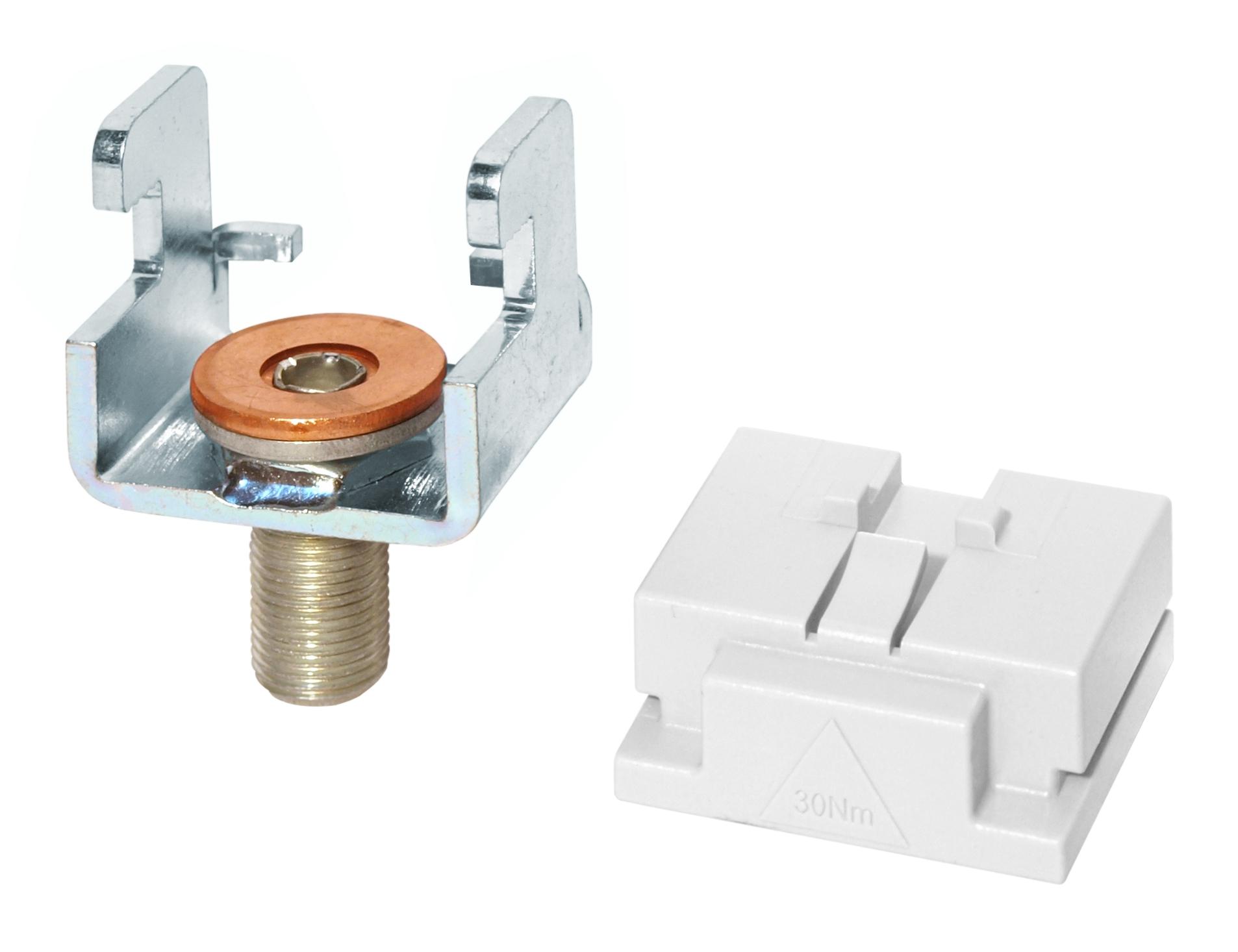 1 Stk Klemmbügel für Anschluss oben für Secur Leanstreamer Gr. 1-3 SI331010--