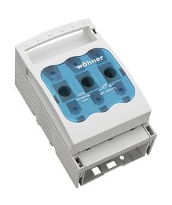 1 Stk NH-Sicherungslasttrennschalter Gr.000, 125A, 3-polig, Aufbau SI332170--