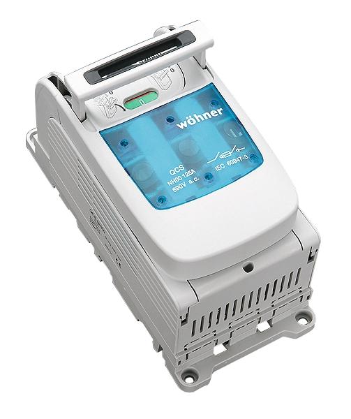 1 Stk Aufbau Lasttrennschalter für 125A, Gr.00, 3pol. schaltbar SI335020--
