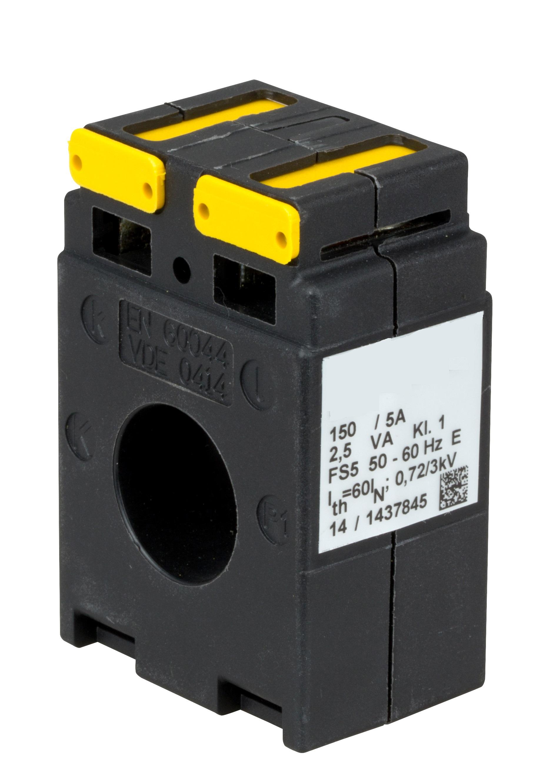 1 Stk Stromwandler 150/5A, 1,5VA, für NH Leiste Gr. 00 SI337420--