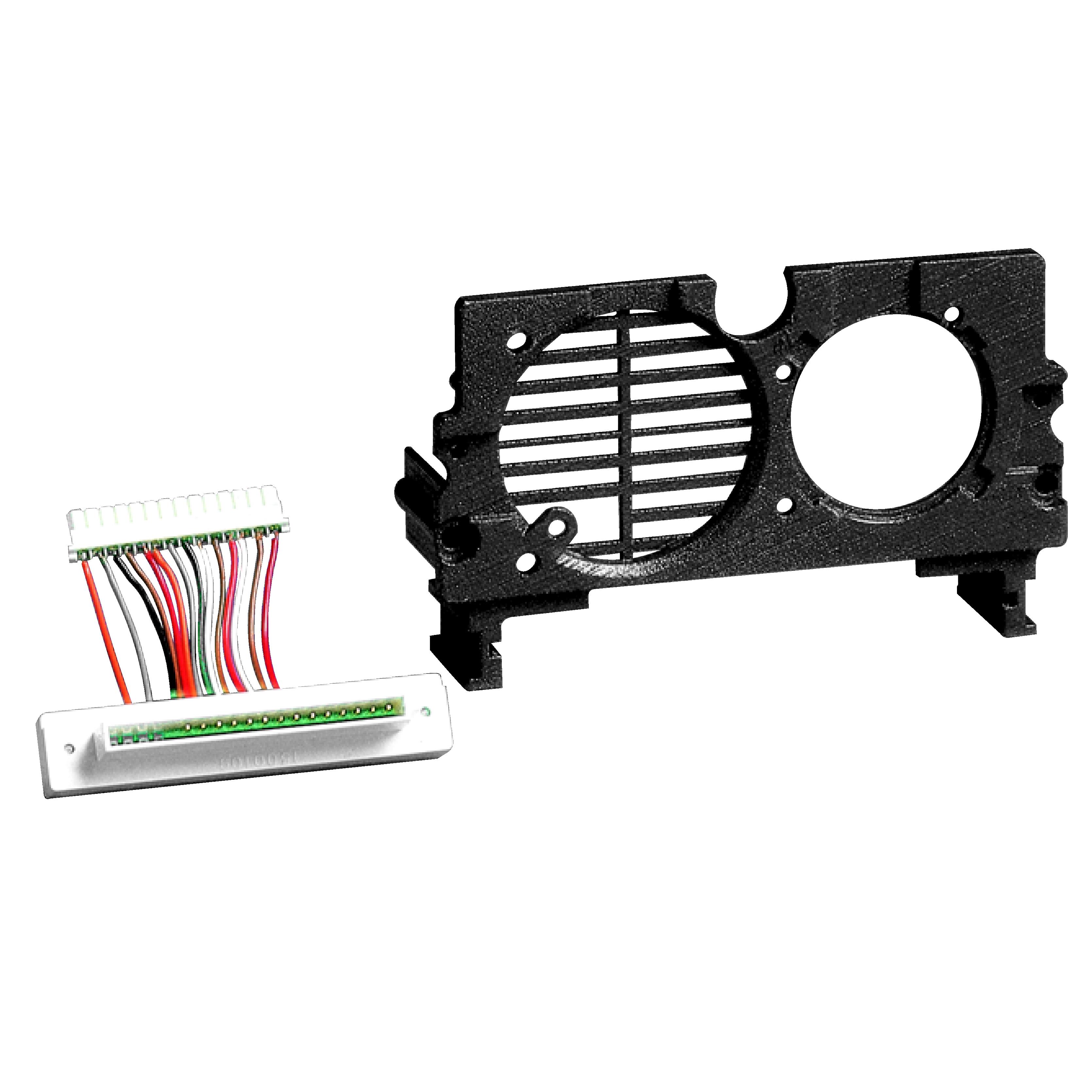 1 Stk Montagerahmen, Zubehör für POWERCOM Lautsprecher/Kameramodul SP125000--
