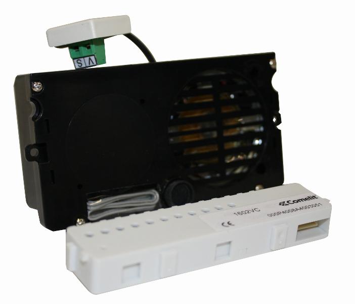 1 Stk Lautsprechermodul f. ext. Farbkamera, SB, Powercom/Vandalcom SP1602VC--