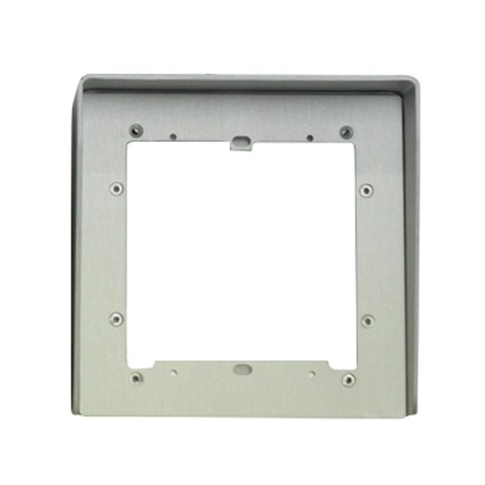 1 Stk Regenschutzblende aus eloxiertem Aluminium 1fach für UP SP311210--
