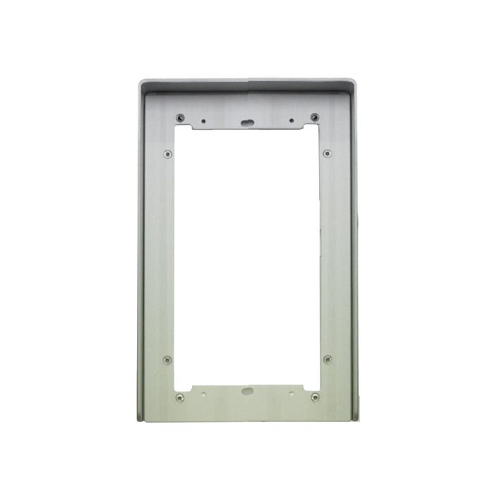 1 Stk Regenschutzblende aus eloxiertem Aluminium 2fach für UP SP311220--