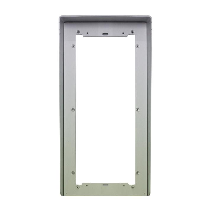 1 Stk Regenschutzblende aus eloxiertem Aluminium 3fach für UP SP311230--