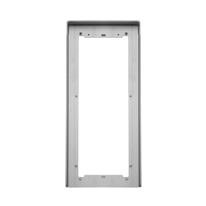 1 Stk Regenschutzblende aus eloxiertem Aluminium 4fach für UP SP311240--
