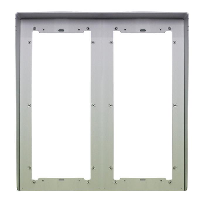 1 Stk Regenschutzblende aus eloxiertem Aluminium 6fach für UP SP311260--
