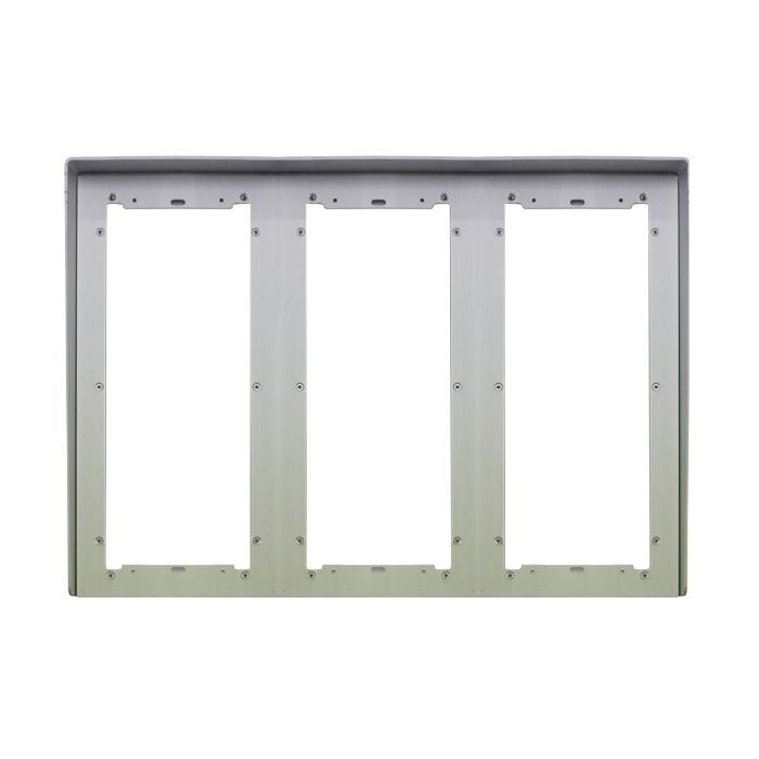 1 Stk Regenschutzblende aus eloxiertem Aluminium 9fach für UP SP311290--