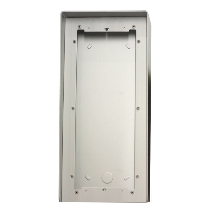 1 Stk AP Gehäuse 3fach aus eloxiertem Aluminium mit Regenschutz SP311630--