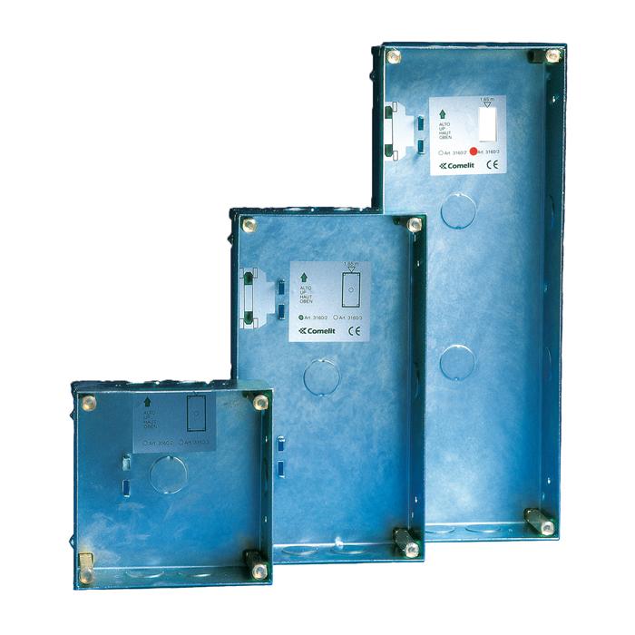 1 Stk Unterputzdose für 2 Module Vandalcom SP316002--