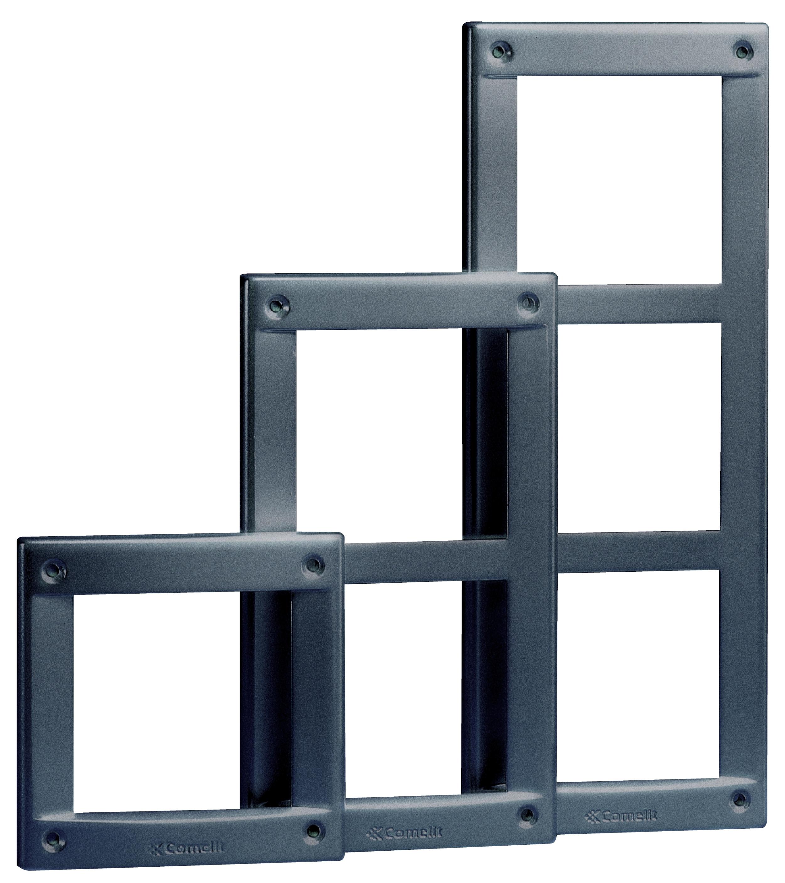 1 Stk Rahmen zu Aussenstelle für 2 Module Vandalcom SP316102--