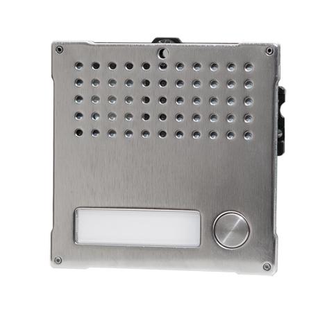 1 Stk Audiofrontmodul mit 1 Taste, VANDALCOM SP3262S1--