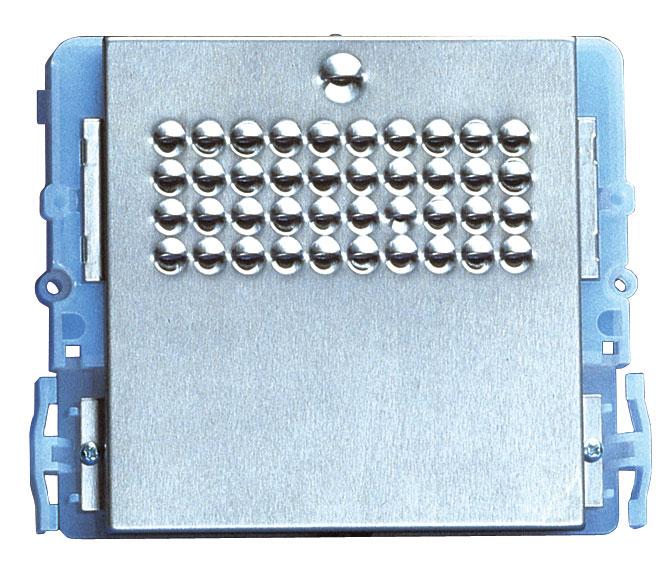 1 Stk Audio-Modul für Aussenstelle Powercom mit 0 Tasten SP332000--