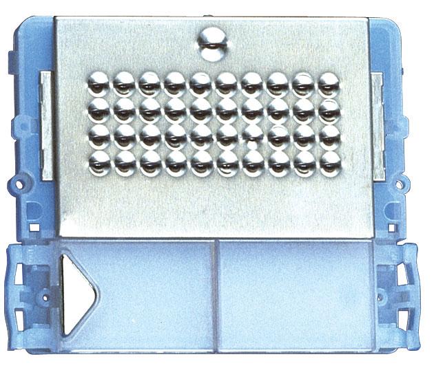 1 Stk Audio-Modul für Aussenstelle Powercom mit 1 Klingeltaste SP332001--